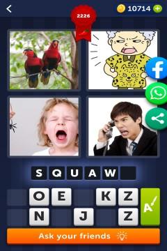 4 Pics 1 Word level 2226