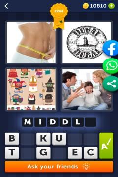 4 Pics 1 Word level 2244