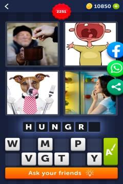4 Pics 1 Word level 2251