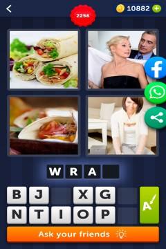 4 Pics 1 Word level 2256