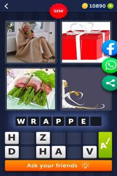 4 Pics 1 Word level 2258