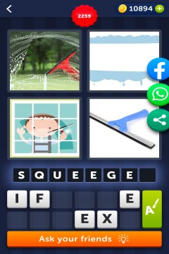 4 Pics 1 Word level 2259