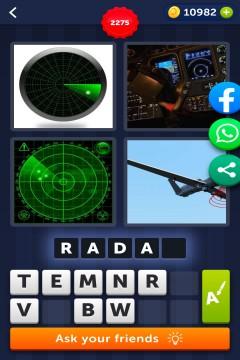 4 Pics 1 Word level 2275