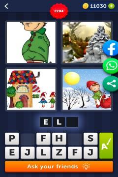 4 Pics 1 Word level 2284