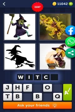 4 Pics 1 Word level 2287