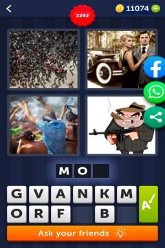 4 Pics 1 Word level 2292