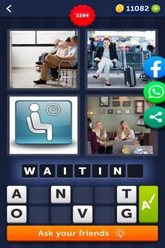 4 Pics 1 Word level 2294