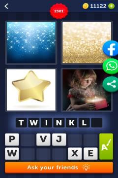 4 Pics 1 Word level 2301