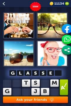 4 Pics 1 Word level 2304
