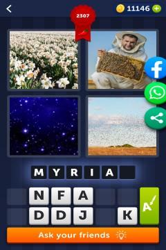 4 Pics 1 Word level 2307