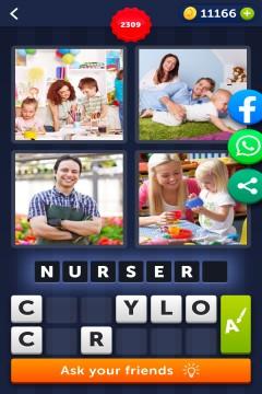 4 Pics 1 Word level 2309