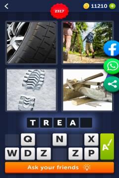 4 Pics 1 Word level 2317