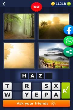 4 Pics 1 Word level 2319