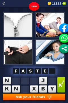 4 Pics 1 Word level 2320