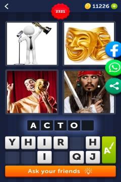 4 Pics 1 Word level 2321
