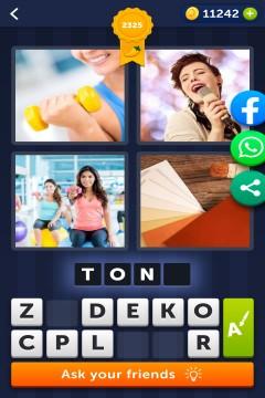 4 Pics 1 Word level 2325