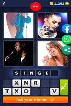 4 Pics 1 Word level 2327