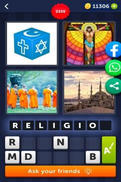 4 Pics 1 Word level 2335
