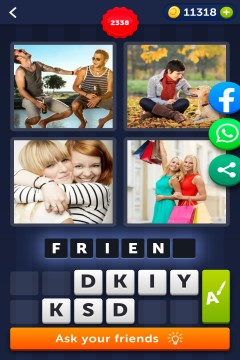 4 Pics 1 Word level 2338