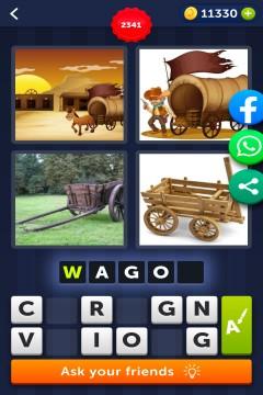 4 Pics 1 Word level 2341