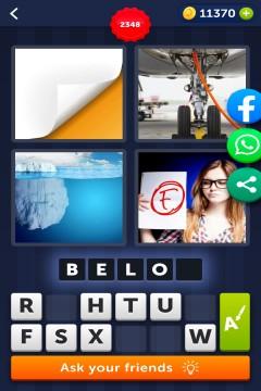 4 Pics 1 Word level 2348