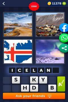 4 Pics 1 Word level 2350