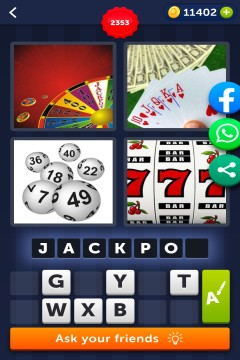 4 Pics 1 Word level 2353