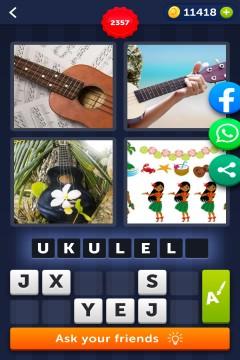 4 Pics 1 Word level 2357
