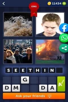 4 Pics 1 Word level 2361