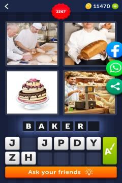4 Pics 1 Word level 2367