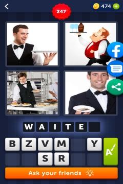 4 Pics 1 Word level 247