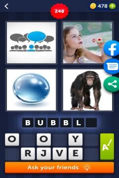 4 Pics 1 Word level 248