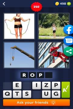 4 Pics 1 Word level 250