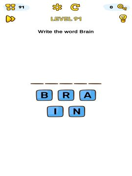 Brain Blow level 91
