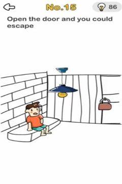 Brain Out Escape Room level 15