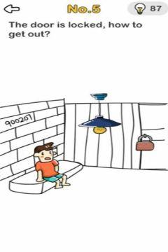 Brain Out Escape Room level 5