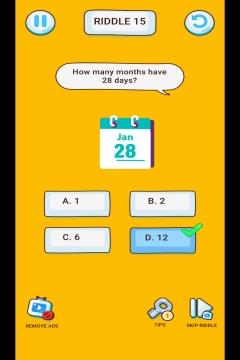 Brain Riddle level 15