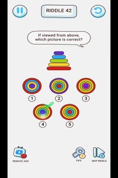 Brain Riddle level 42