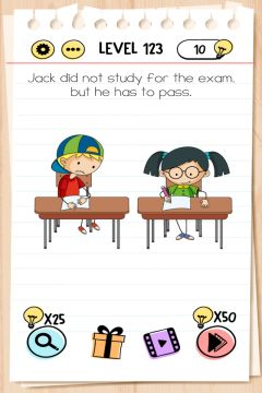 brain test level 123