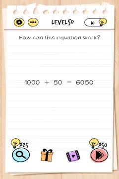 brain test level 50