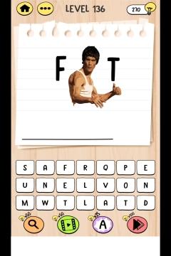 Brain Test Tricky Words level 136