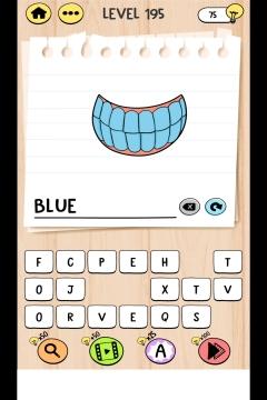 Brain Test Tricky Words level 195