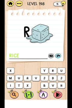 Brain Test Tricky Words level 198