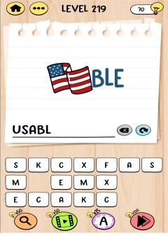Brain Test Tricky Words level 221