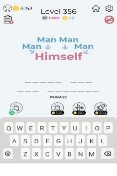 Dingbats Word Quiz level 356