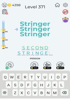 Dingbats Word Quiz level 371