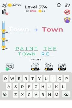 Dingbats Word Quiz level 374
