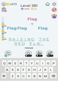 Dingbats Word Quiz level 381