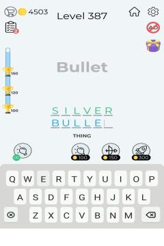 Dingbats Word Quiz level 387