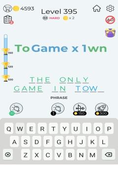 Dingbats Word Quiz level 395